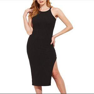 Dresses & Skirts - Solid sleeveless bodycon dress